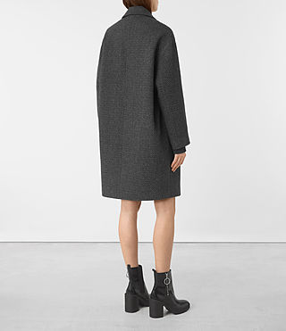 Womens Ada Teco Coat (Black/White) - product_image_alt_text_4