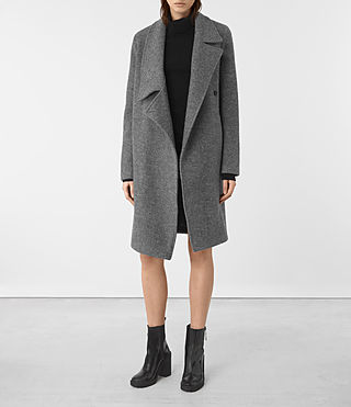 Femmes Manteau Ellis (Grey)