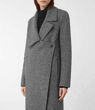 Mujer Ellis Coat (Grey) - product_image_alt_text_3