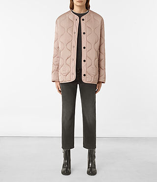 Womens Hayes Jacket (Dusty Pink)