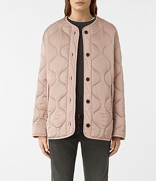 Womens Hayes Jacket (Dusty Pink) - product_image_alt_text_2