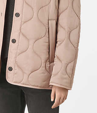 Women's Hayes Jacket (Dusty Pink) - product_image_alt_text_4