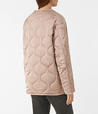 Womens Hayes Jacket (Dusty Pink) - product_image_alt_text_5