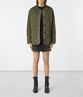 Womens Hayes Jacket (Khaki Green)