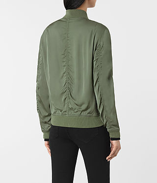 Donne Bomber Kuma (SMOKE GREEN) - product_image_alt_text_4