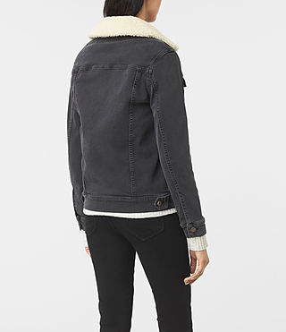 Donne Annie Denim Jacket (Washed Black) - product_image_alt_text_4