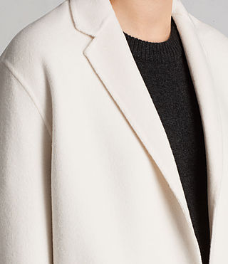 Women's Anya Coat (PORCELAIN WHITE) - Image 5