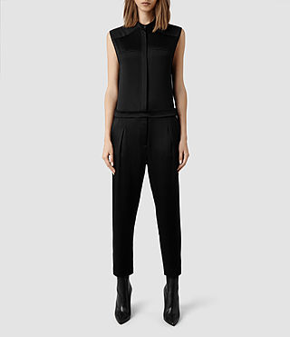 Womens Tila Jumpsuit (Black)