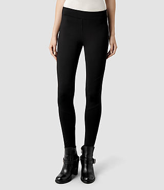 Womens Lori Leggings (Black)