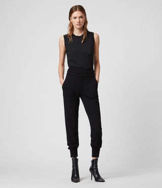 Womens Darcie Jogger (Black) - Image 1