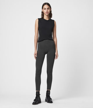 Womens Bri Leggings (Charcoal)