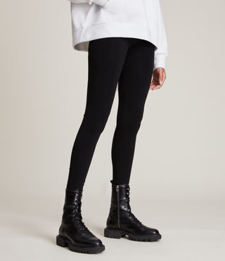 Women's Bri Leggings (Black) - product_image_alt_text_2