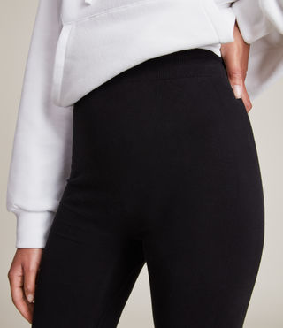 Women's Bri Leggings (Black) - product_image_alt_text_3