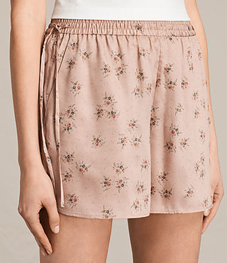 Donne Shorts Kaplan Rosalie (BLUSH PINK) - product_image_alt_text_2