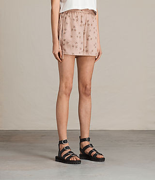 Donne Shorts Kaplan Rosalie (BLUSH PINK) - product_image_alt_text_3