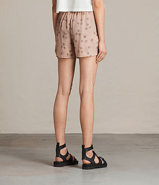 Donne Shorts Kaplan Rosalie (BLUSH PINK) - product_image_alt_text_4