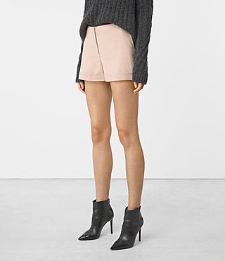 Donne Alyas Shorts (Dusty Pink) - product_image_alt_text_2