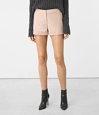 Donne Alyas Shorts (Dusty Pink) - product_image_alt_text_3