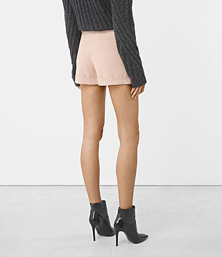 Donne Alyas Shorts (Dusty Pink) - product_image_alt_text_4