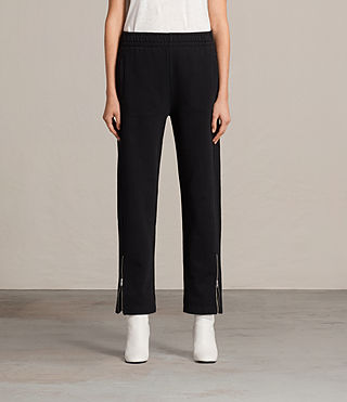 Womens Paola Trackpant (Jet Black) - Image 1