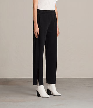 Womens Paola Trackpant (Jet Black) - Image 3