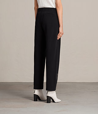 Womens Paola Trackpant (Jet Black) - Image 4