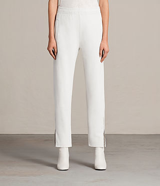 Damen Paola Trackpant (IVORY WHITE) -
