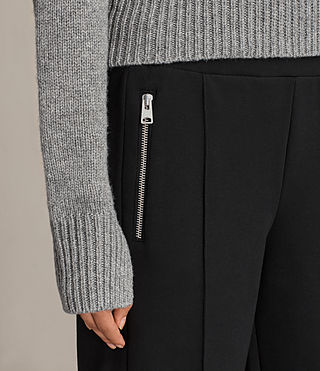 Womens Lia Trackpant (Jet Black) - Image 2