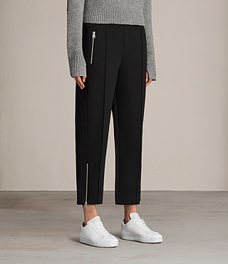 Womens Lia Trackpant (Jet Black) - Image 3