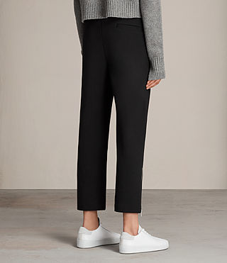 Womens Lia Trackpant (Jet Black) - Image 4