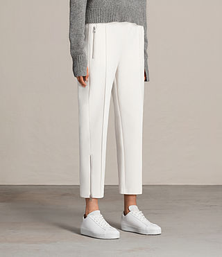 Womens Lia Trackpant (NATURAL WHITE) - Image 3