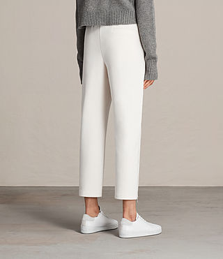 Womens Lia Trackpant (NATURAL WHITE) - Image 4
