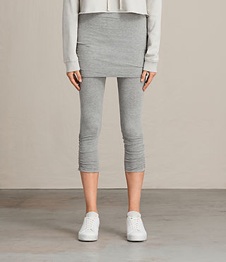ruched crop raffi leggings