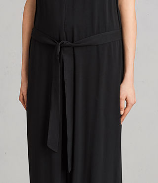 Womens Cate Jumpsuit (Black) - Image 5