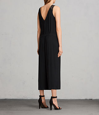 Womens Cate Jumpsuit (Black) - Image 7