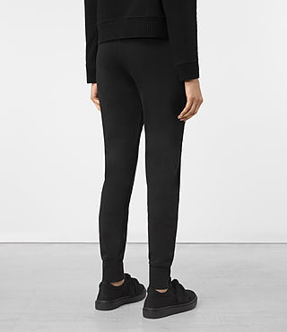 Mujer Urban Jogging Pants (Jet Black) - product_image_alt_text_3