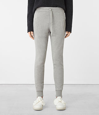 Womens Urban Jogging Pants (ICE WHITE) - product_image_alt_text_1