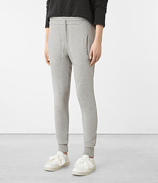 Womens Urban Jogging Pants (ICE WHITE) - product_image_alt_text_2