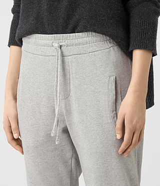 Damen Urban Jogging Pants (ICE WHITE) - product_image_alt_text_3
