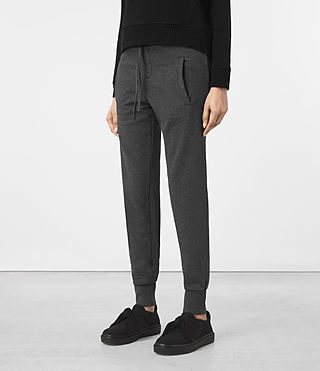 Womens Urban Jogging Pants (MID CHARCOAL GREY) - product_image_alt_text_1