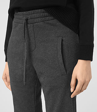 Womens Urban Jogging Pants (MID CHARCOAL GREY) - product_image_alt_text_2