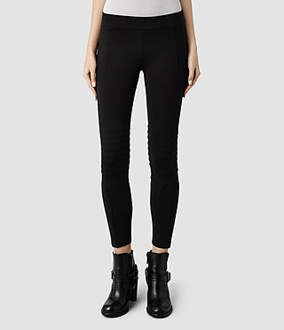 Womens Ridley Leggings (Black) - product_image_alt_text_1