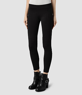 Womens Ridley Leggings (Black) - product_image_alt_text_2