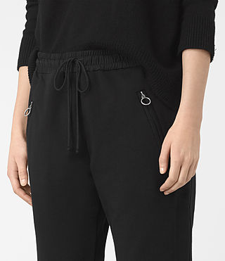 Mujer Pantalones Juno (Black) - product_image_alt_text_2