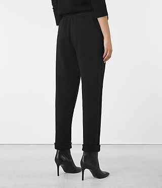 Mujer Pantalones Juno (Black) - product_image_alt_text_4