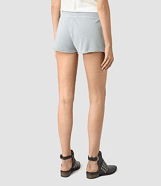 Damen Miller Sweatshorts (MIST BLUE) - product_image_alt_text_4
