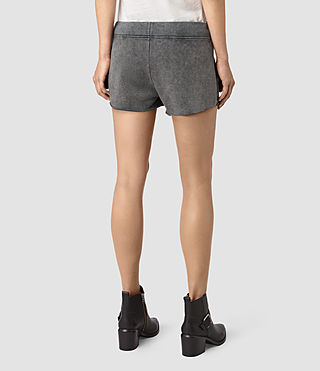 Mujer Miller Sweatshorts (Black) - product_image_alt_text_4