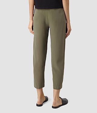 Mujer Palmer Trousers (Light Khaki) - product_image_alt_text_3