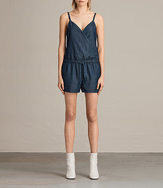 Damen Joanna Playsuit (DARK INDIGO BLUE) -
