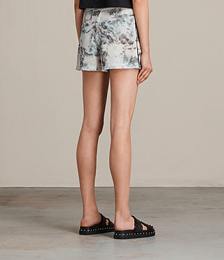 Women's Emen Tyde Shorts (SOAP GREY) - product_image_alt_text_4